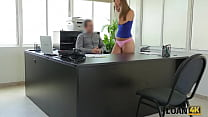 LOAN4K. Man uses young student girl as a whore ...