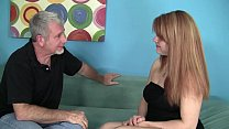 Hot Redhead Young Babysitter applies for the jo...