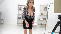 Big titty blonde mature wants to help you jerk off