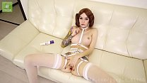 Watch Purple Bitch cosplay Leia's pussy preview