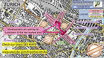 Zurich, Switzerland, Street Prostitution Map, P...