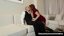 Cock Craving Cougar, Deauxma gets a British Asi...