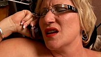 Beautiful big belly mature BBW loves to play wi...