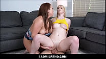 Blonde Big Tits MILF Step Mom Joins In With Ste...