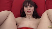 Mature Vera Delight gets ass fuck and pussy cre...