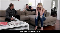 Hot Young Blonde Teen Step Sister Family Sex Wi...