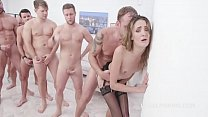 7on1 submissive DAP Gangbang with Zoe Sparks, B...