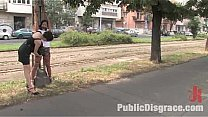 Incredibly hot Angelica Heart publicly humiliat...