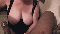 Busty Blonde Curvy MILF BBC Gagging And Anal