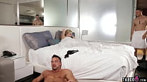 MILF wife cheating on her hubby with her buff s...