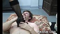 Playful gal enjoys a wild sex