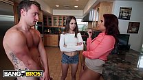 BANGBROS - Riley Finds Triflin' Ass Boyfriend Cheating With Her Step Mom Thumbnail