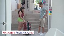 Naughty America - Gabriela Lopez gets fucked wh...