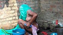 Indian Outdoor  Bath Video Porn In Hindi