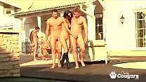 Lucy Belle Has Anal Sex Outdoors