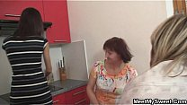 She is lured into threesome by his parents