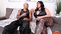 Sex Slave Sara Jay pleases everyone in this lus...