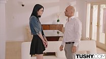 Watch TUSHY College Student Seduces Dads Friend With Anal Sex Toys preview
