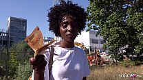 GERMAN SCOUT - AFRICAN FIT GIRL WITH PERFECT BO...