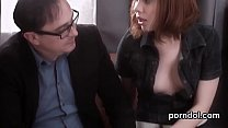 Natural college girl was tempted and reamed by ...