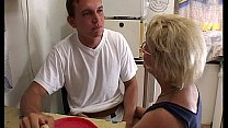 Watch Mature Stepmom Serving Pussy In Breakfast To Her Stepson preview