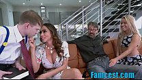 Squirting Teen & Mom Fuck Priests Big Cock In F...