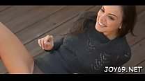 Worshipped Renee P. has a huge smile on her fac...