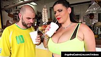 Big Butt Cuban Angelina Castro is on a date wit...