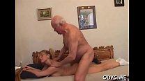 Beguiling blonde Natalie with large natural tit...