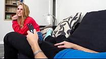 Natalie Knight Blows Her Sister's Boyfriend (Wa...