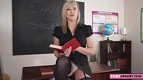 teacher's upskirt