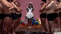 JAV huge gokkun event Airi Natsume naughty maid...