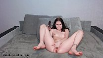 Cute Teen Fingering Tight Pussy and Play Sex To...