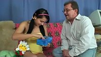 grandpa in love with cute busty teen