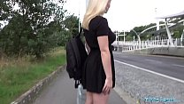 Public Agent 18 year old blondie European fucks...
