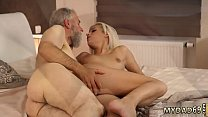 Blonde and brunette strap on  y. pussy fucked hard