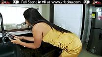 Innocent Latina Teen Making Porn Debut VR