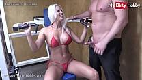 MyDirtyHobby -German amateur fitness babe sucks...