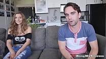 Filthy Teen Slut Moka Mora Takes On Two Cocks A...