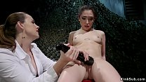 Big tits lesbian Special Agent Chanel Preston v...