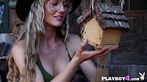 Small tits blonde MILF hot striptease and danci...