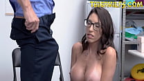 Security Guard Fucking Milf Because She Is A Th...