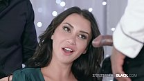 Beautiful Brunette, Katrin Tequila, gets her ti...
