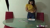 Brunette latina Anais likes fucking her student...