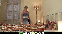 Watch Mother in law wakes him up for taboo cock riding preview