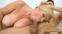 chubby granny with big tits gets fucked