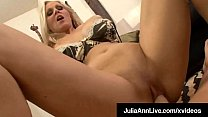 Busty Cock Craved Cougar, Julia Ann, does an in...