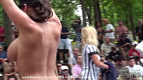nude chicks at a stripper festival that used to...