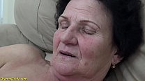 hairy 72 year old mom gets extreme hard fucked ...