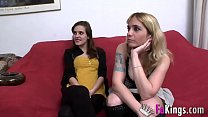 Ainara and her aunt fuck David together